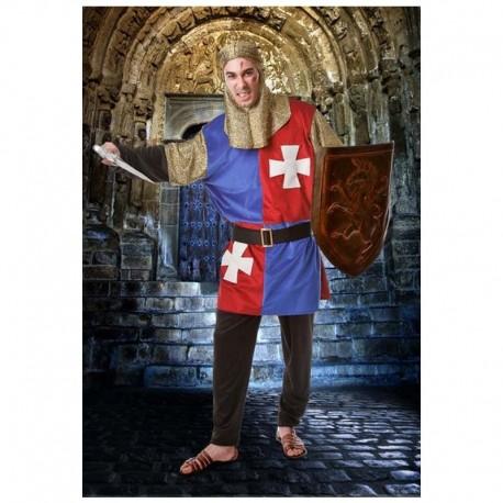 Disfraz de cruzado medieval