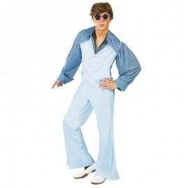 Disfraz de chico yeye azul