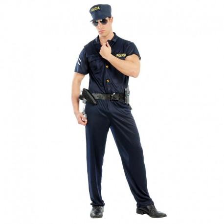 Disfraz de agente de policia
