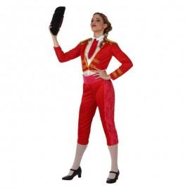 Disfraz de torera roja
