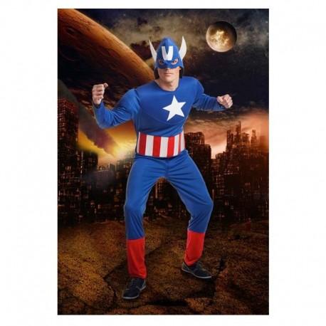 Disfraz de heroe americano