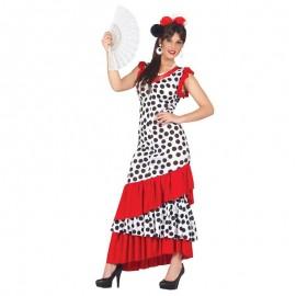 Disfraz de flamenca larga