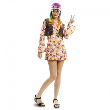 Disfraz de hippie primavera