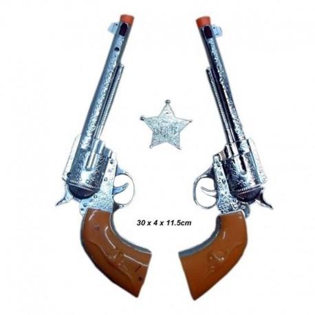 Pistolas de vaquero grandes