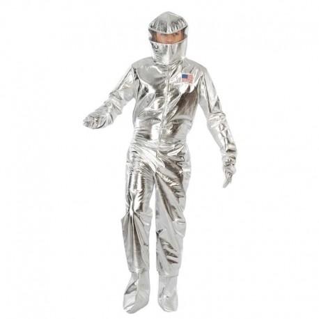 Disfraz de astronauta plata