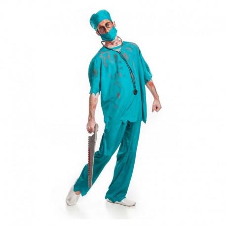 Disfraz de medico zombie