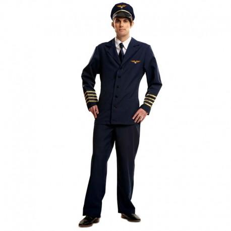 Disfraz de piloto de avion