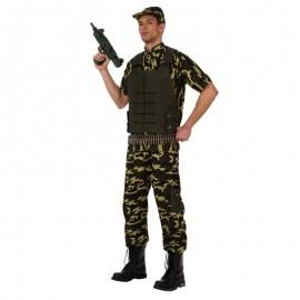 Disfraz de militar chaleco