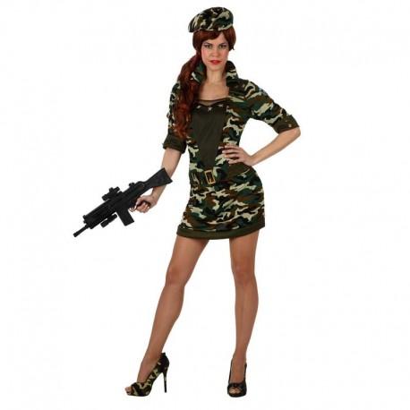 Disfraz de militar chica sexy