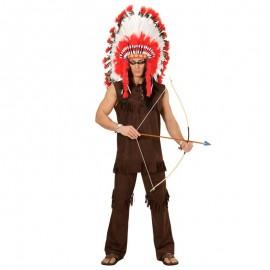 Disfraz gran jefe indio