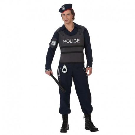 Disfraz de policia disturbios
