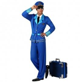 Disfraz de piloto años 60