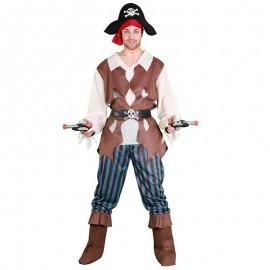 Disfraz de pirata caribeño