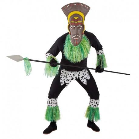 Disfraz de zulu