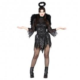Disfraz de angel negro