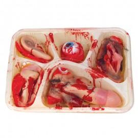 Bandeja con organos humanos