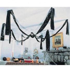 Decoracion araña de plastico