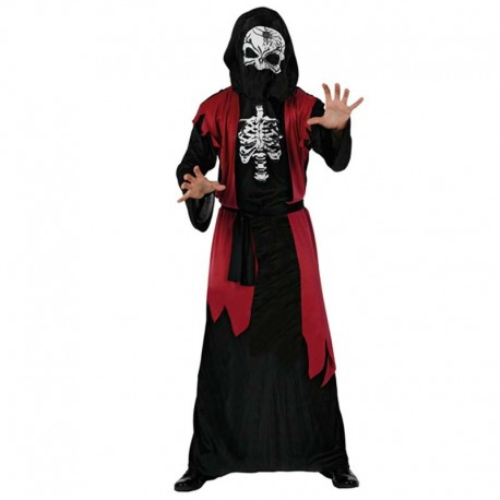 Disfraz de esqueleto tunica