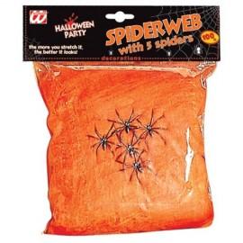 Telaraña naranja 100grs