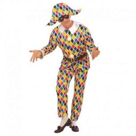 Disfraz de arlequin