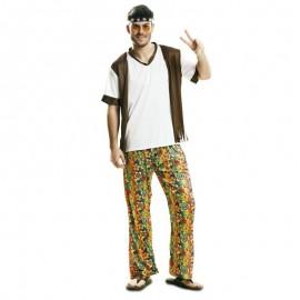 Disfraz de hippie fumeta