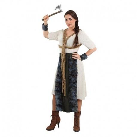 Disfraz de vikinga nordica