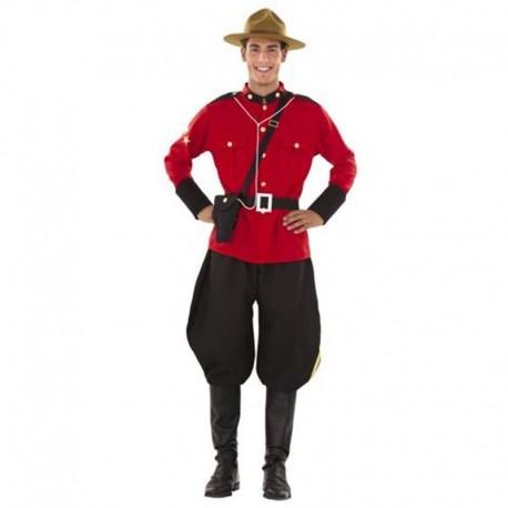 Disfraz de policia montada de Canada