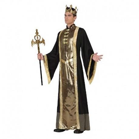 Disfraz de rey dorado