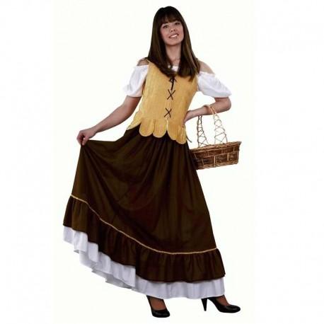 Disfraz de mesonera amarillo