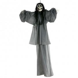 Colgante esqueleto gris 120cm