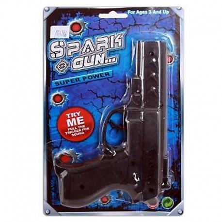 Pistola de policia negra