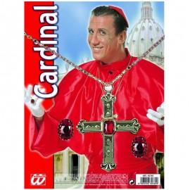 Colgante y anillos de cardenal