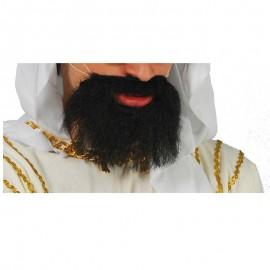 Barba lisa infantil morena