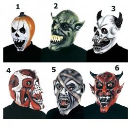 Careta Halloween 6 modelos