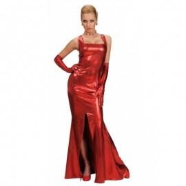 Vestido cocktail rojo