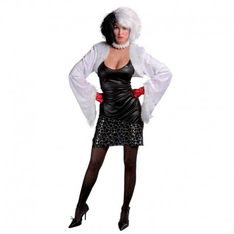 Disfraz de Cruella sexy