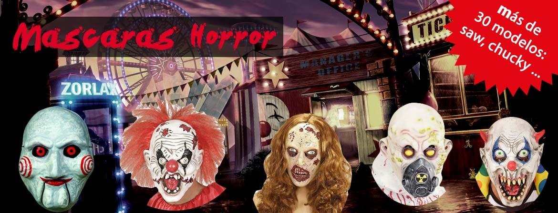 Mascaras horror