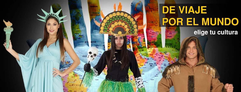 Disfraces de paises del mundo