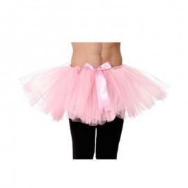 Tutu de bailarina rosa