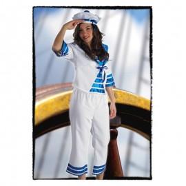 Disfraz de marinera grumete