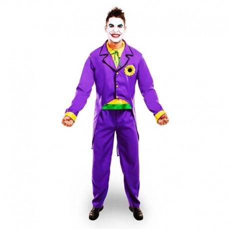 Disfraz de Joker morado