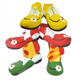Zapato de payaso de goma infantil