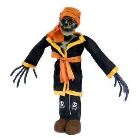 Muñeco esqueleto pirata