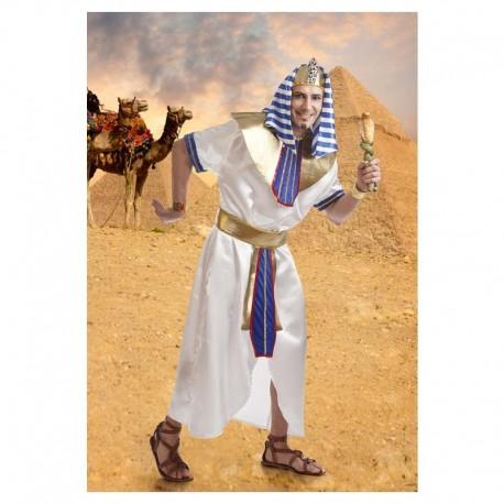 Disfraz de egipcio blanco