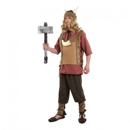 Disfraz de vikingo nordico