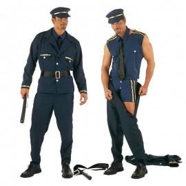Disfraz de policia striper