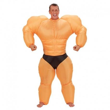 Disfraz de musculitos hinchable