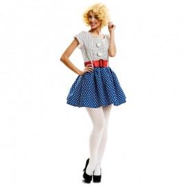 Disfraz de pop art años 60