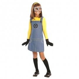 Disfraz de Minion niña 4-6 años