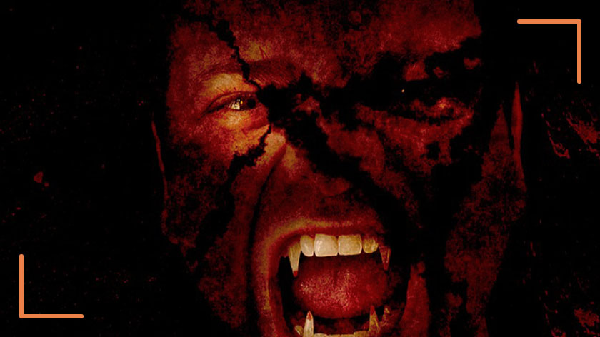maquillaje de vampiro sencillo